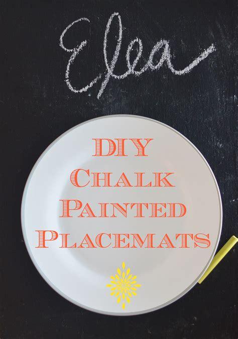 diy chalkboard placemats diy chalk paint placemats in grace