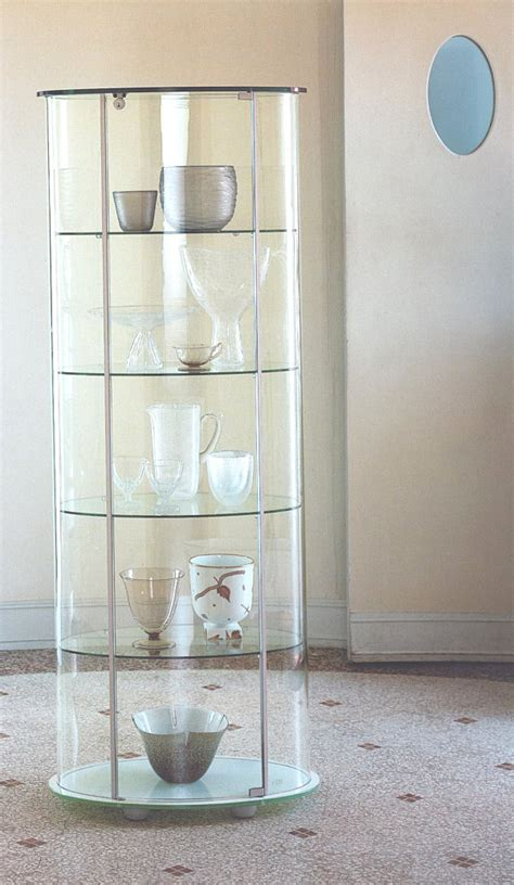 Shelves For Kitchen Cabinets glass cabinets for a chic display