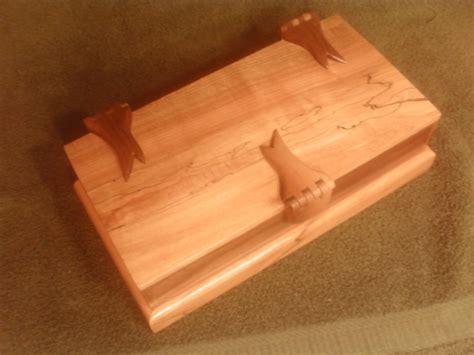 woodworking hinges wooden hinges 1st try by hawk9 lumberjocks