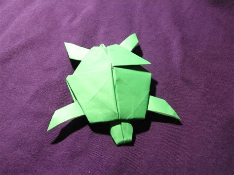 origami turtle origami turtle by karatechick13 on deviantart