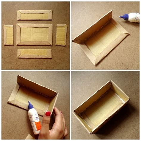 how to make a box out of a card make a vintage cardboard box 183 how to make a box 183 on
