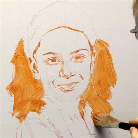 acrylic painting portraits tutorial tips tricks portrait painting