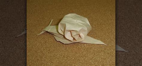 origami snail how to fold an adorable lifelike origami snail 171 origami