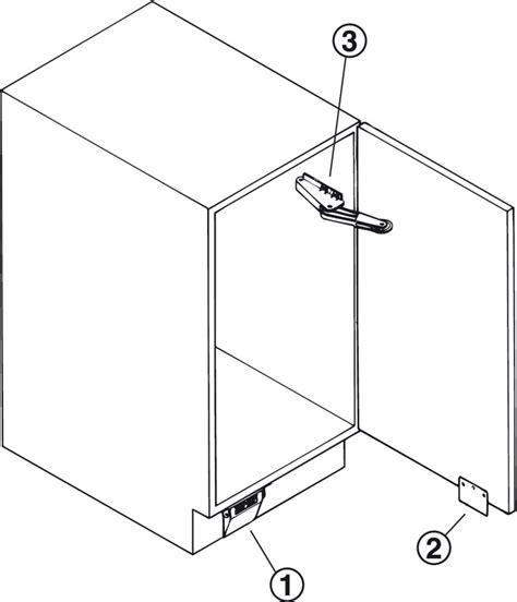 base cabinet doors door opener for hinged base cabinet doors in the h 228 fele