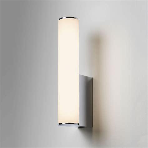 chrome bathroom wall lights astro domino polished chrome bathroom led wall light at uk