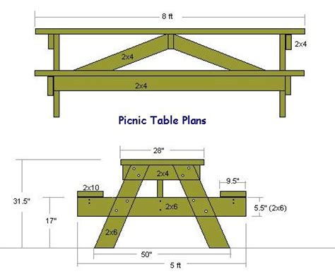 picnic table woodworking plans wood plans picnic table create