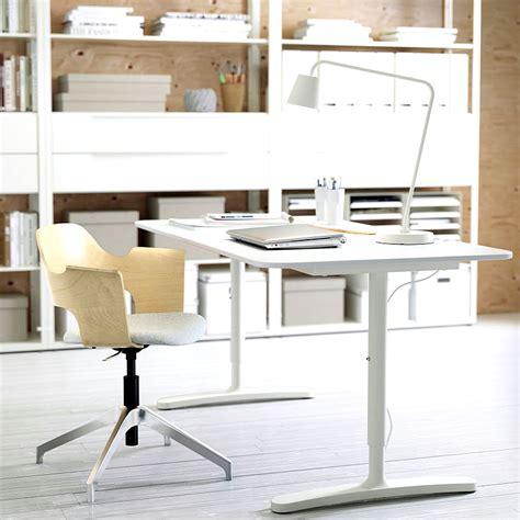 desk for home office ikea ikea bekant desk white in a home office minimalist desk