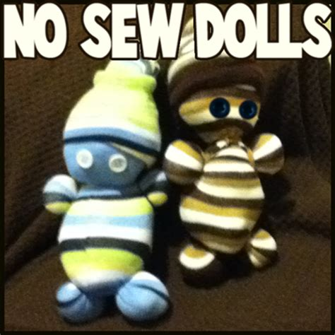easy sewing crafts how to make easy no sew sock dolls crafts idea for