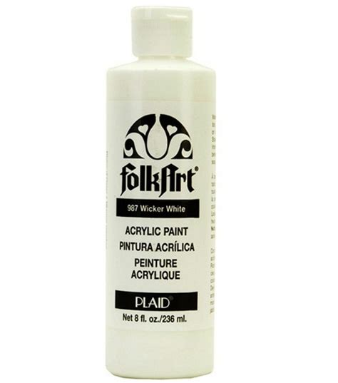 acrylic paints joann folkart 174 acrylic paint white at joann