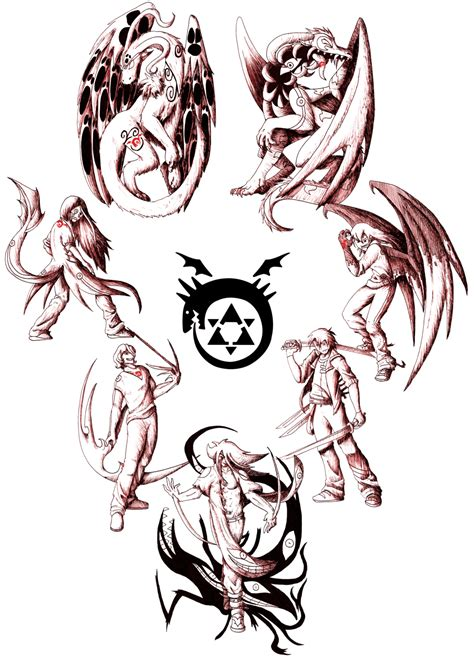 the seven deadly sins by flaresiram on deviantart