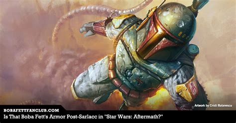 is that boba fett s armor post sarlacc in star wars