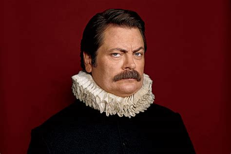nick offerman the real swanson a review of nick offerman s
