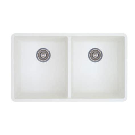 white undermount kitchen sink blanco 516320 precis 16 equal bowl kitchen sinks