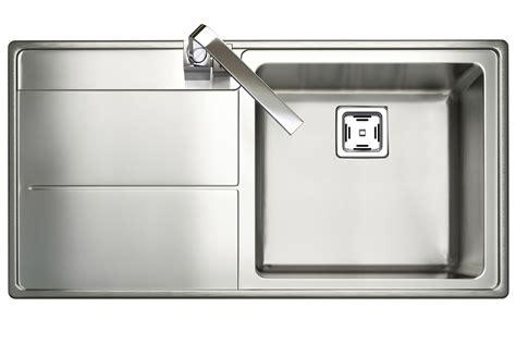 single bowl kitchen sink with drainer rangemaster arlington square kitchen sink single bowl