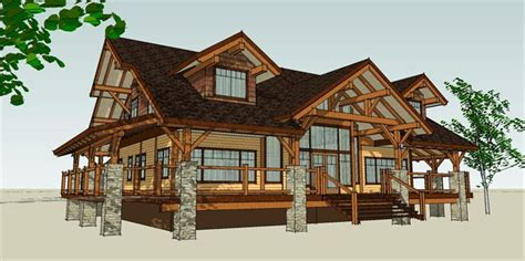 Bungalow Floor Plans Canada timber frame house plans timber frame home plans designs