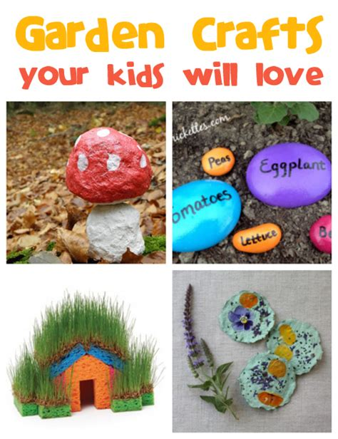 gardening crafts for garden crafts for family crafts