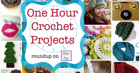 one hour craft projects 35 one hour crochet projects diy craft projects