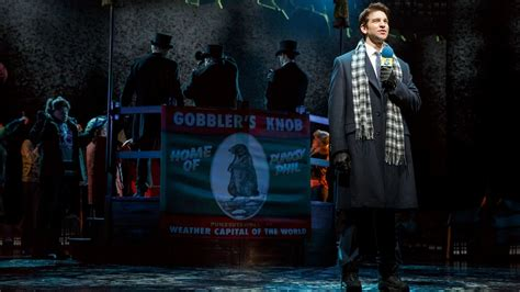 groundhog day broadway can cast injury derail groundhog day how the musical