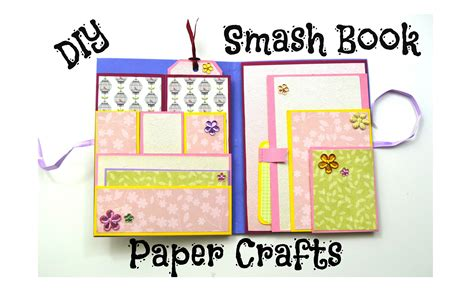 paper craft birthday diy paper crafts how to make a smash book slim