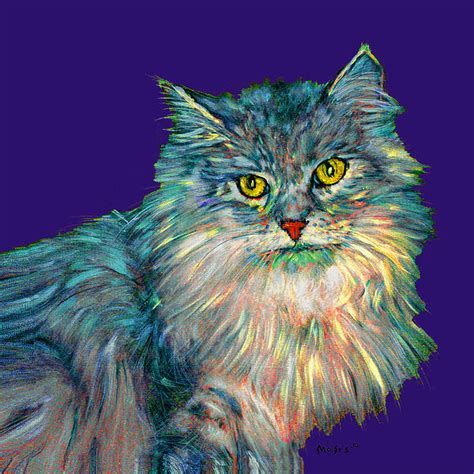rainbow cat painting rainbow cat by dale moses rainbow cat painting rainbow