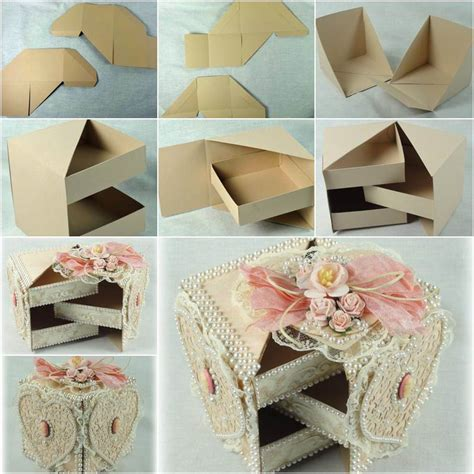 how to make jewelry gift boxes diy beautiful gift box with drawers