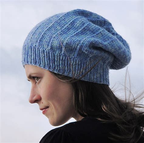 mens slouchy beanie knitting pattern free slouchy hat knitting patterns in the loop knitting