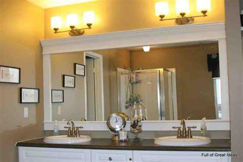 mirror frames for bathroom large framed bathroom mirrors decor ideasdecor ideas