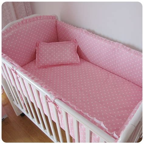 cot bedding and bumper sets discount 6pcs cotton baby bedding sets baby cot bed