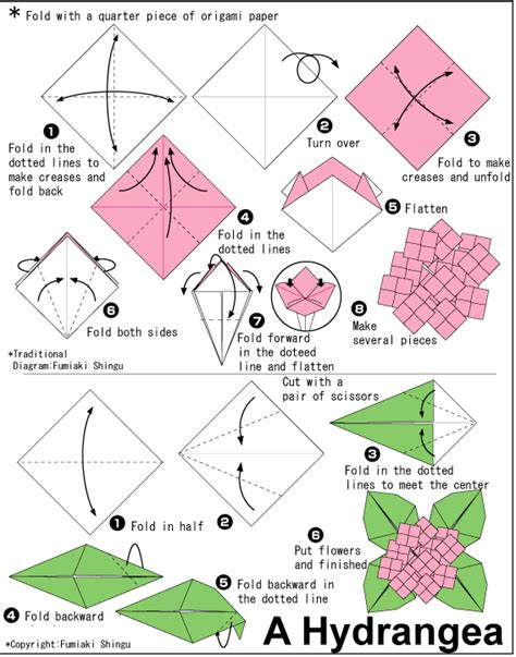 www en origami club diagram
