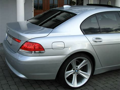 2008 Bmw 745i by Back Window Roof Spoiler For Bmw E65 A Type 7 Series E66