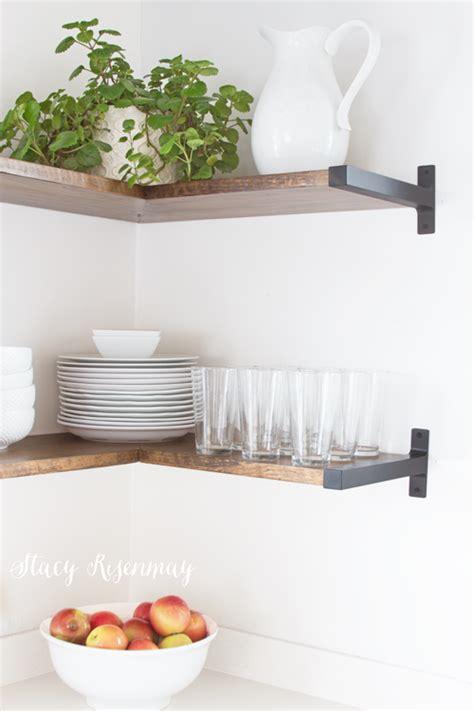 kitchen shelves open shelves in the kitchen risenmay
