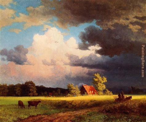 painting landscapes albert bierstadt bavarian landscape painting anysize 50