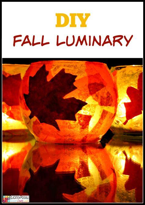 diy fall crafts for diy luminary a frugal autumn craft