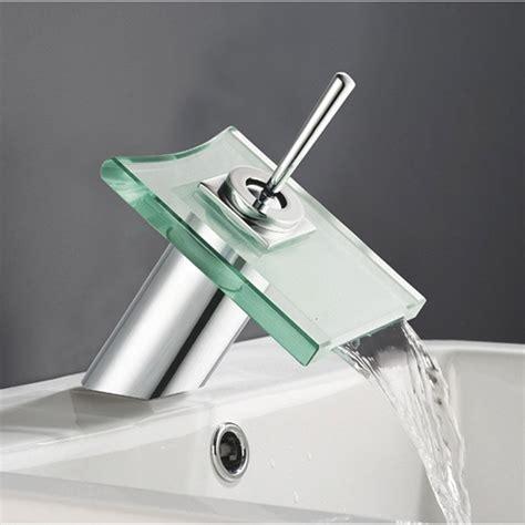 mitigeur de lavabo cascade chrom 233 brillant cristali leroy merlin