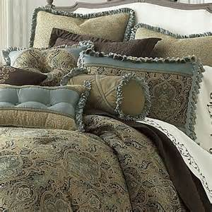 discontinued jcpenney comforter sets new jcpenney villa gold blue green jacquard medallion