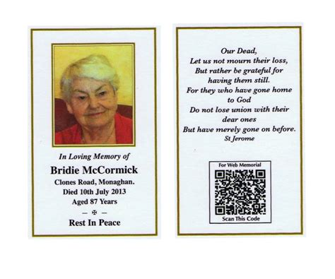 how to make funeral cards custom card template 187 memorial cards for funeral template