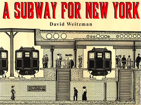 new york picture book david weitzman books a subway for new york