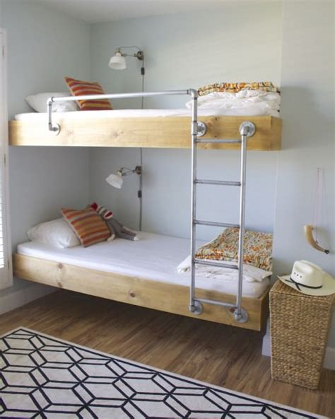 diy bunk beds 9 amazing diy bunk beds decorating your small space
