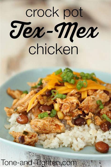 healthy crock pot tex mex chicken on tone and tighten healthy crock pot meals