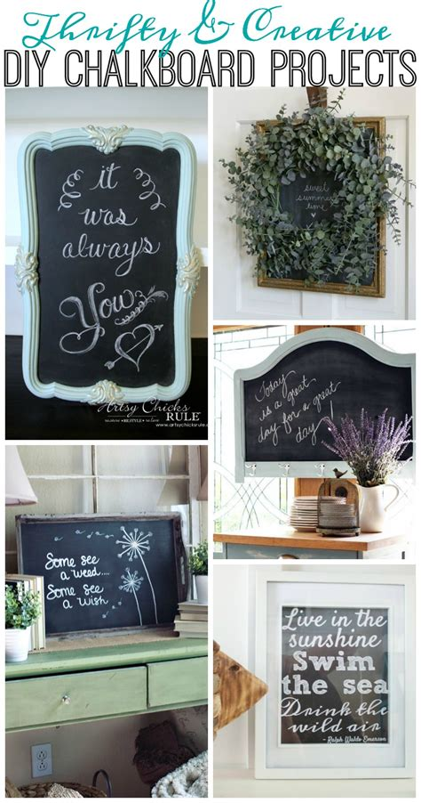 chalkboard diy projects diy challengeparty your chalkboard projects the