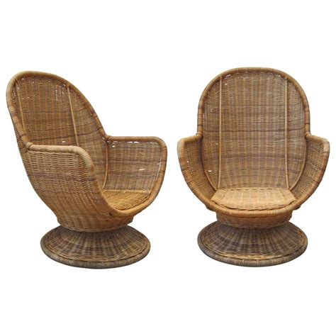 rattan swivel chairs rattan swivel papasan chair rattan swivel chair