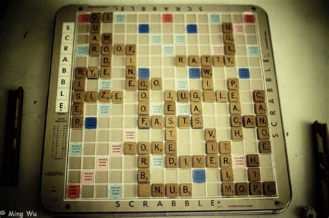 Photo Of The Day Scrabble Board Ming Wu Photos