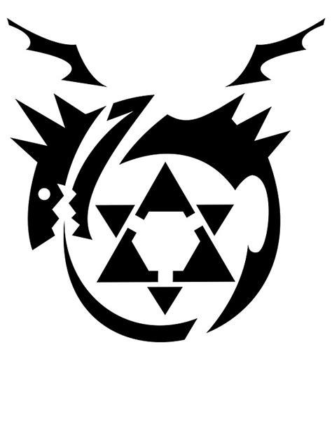 quot black homunculus symbol fullmetal alchemist quot stickers by