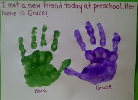 easy friendship crafts for crafts for preschoolers august 2011