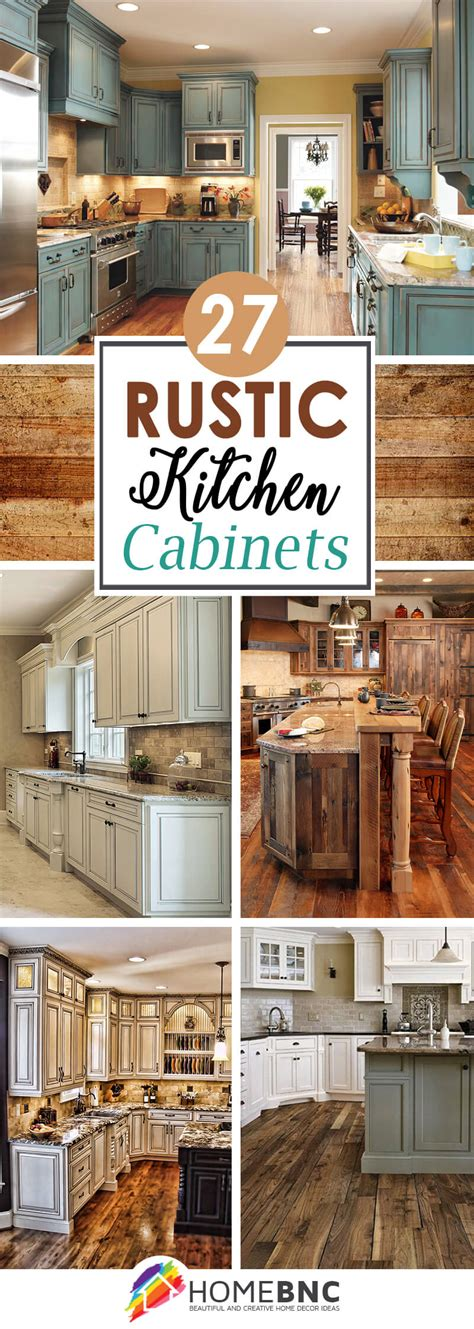 kitchen cabinets rustic 27 best rustic kitchen cabinet ideas and designs for 2018