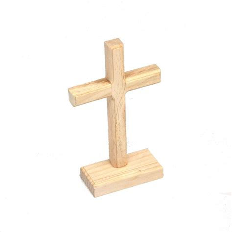 unfinished wooden unfinished wooden cross