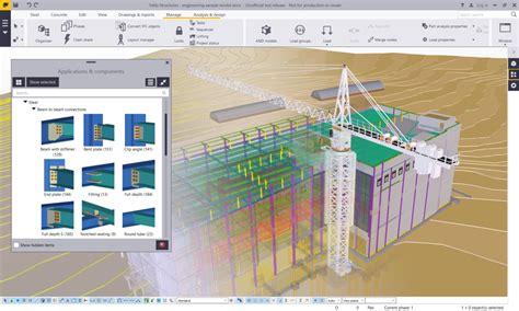 free construction design software tekla structures bim software tekla