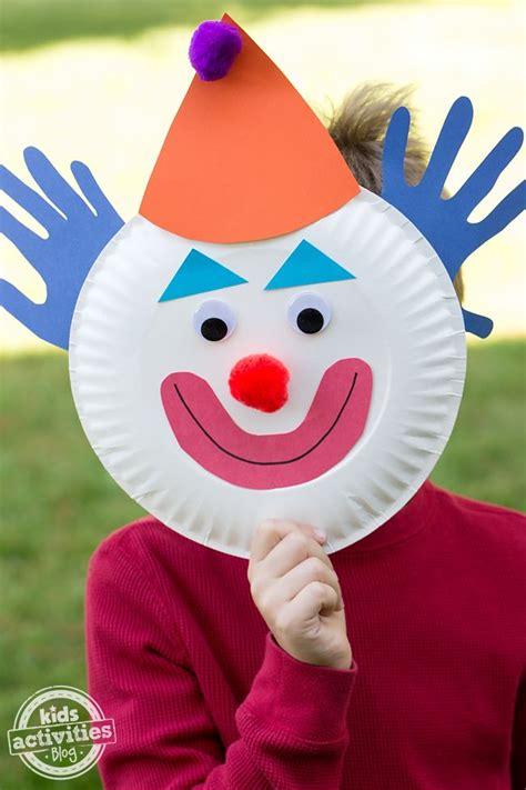 paper plate clown craft best 20 clown crafts ideas on circus crafts