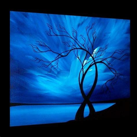 painting acrylic landscapes easy way 25 best ideas about abstract tree painting on