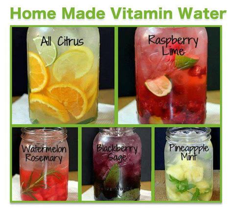 make your own water less soda more water make your own flavored waters